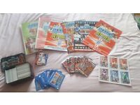 Match attax and football stickers