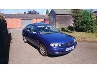 2001 Toyota Corolla 1.6 VVTi GLS, 5 Door Metallic Blue, Spares/Repairs. MOT until 27/08/16