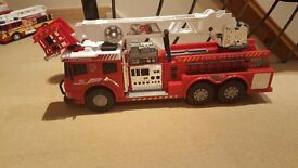 Large toy fire engine
