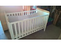 Mamas and Papas Prairie Cot and Mattress
