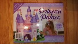 BRAND NEW Press Out and Build Princess Palace