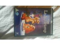 Disney dvd lady and the tramp