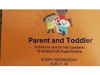 Riddrie parent and toddler