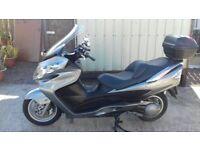 2007 Suzuki Bergman 400 scooter