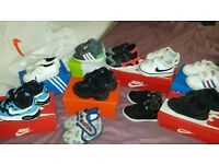 Boys trainers size uk 4/4.5
