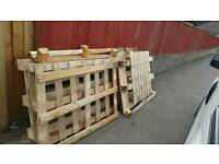 FREE WOODEN PALLETS, CRATES, FIRE WOOD