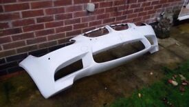 BMW e92 e90 e93 genuine m3 bumper front white