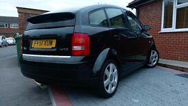Audi A2 2001 51 Reg 1.4 TDI 5 Door Panoramic roof Sought after Grey Leather interior