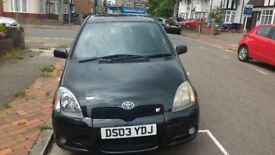 Toyota Yaris Black 1.0L 3 doors NEW MOT Only 87.Miles £650
