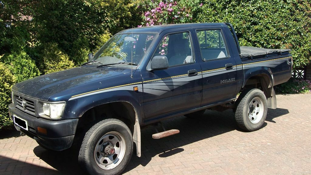 For Sale 1996 4x4 Toyota Hilux Double Cab Pickup With Tow
