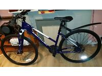 Never used Spesialized paid £540 fluid disc brake ladies mountain bike,27 speed,new mudguard as well