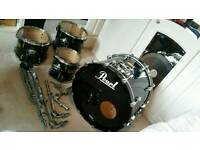 Pearl Masters Studio Birch Shell Drum Kit
