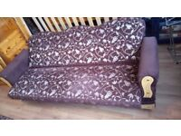 2 identical sofa bed click & clack sofa bed with storage going cheap crab a bargain