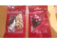 Culpitt Plastic Christmas Cake Decorations pack