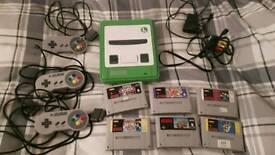 Custom Super Nintendo Console