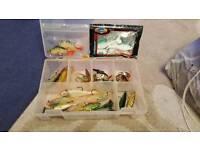 Fishing lures fox box