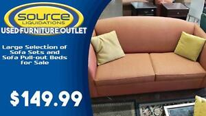 Large Selection of Sofa Sets and Sofa Pull-out Beds for Sale!!