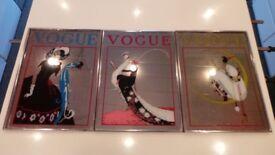 x3 Vtg Retro French Vogue Mirror's - Art Deco Modern