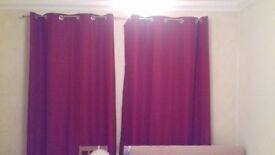Jonn Lewis curtains, 1 year old, very good condition.