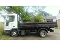 Ford iveco tipper 1993
