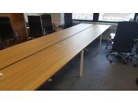 Cherry Bench Desk 1600mmW #132