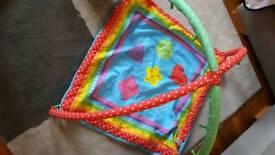 Baby activities mat