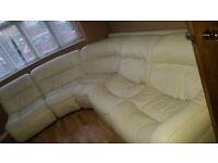 leather sofa 6 seater.zara dfs