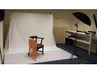 Photography Studio to rent.
