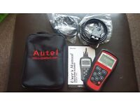 MAXISCAN DIAGNOSTIC OBDII / EOBD SCANNER ONLY USED ONCE WITH BOX