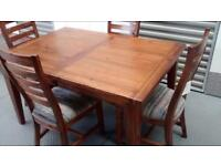 Mark Websters Kember Range Extending Dining Table Set