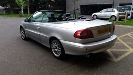 Volvo c70 2 0 20v 2001 fully loaded convertible