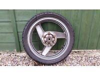 Kawasaki GPZ500S Rear Wheel & Tyre