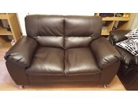 2 Seater Leather Style Sofa