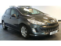 2009 59 PEUGEOT 308 1.6 SPORT HDI 5D 89 BHP DIESEL *PART EX WELCOME*FINANCE AVAILABLE*WARRANTY*