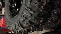 Can Am renegade Rims and Tires