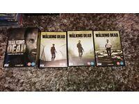 Walking Dead seasons 1 - 6