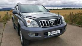 TOYOTA LAND CRUISER 3.0 D4D 4WD AUTO 7 SEATER 2007 LC5 LEFT HAND DRIVE