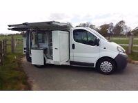Vauxhall Vivaro Sandwich Van, Coffee Van, Pasty Van, Pie Van, Ex-Benjy's, Fridge, Oven, Coffee