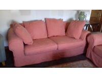 Three Seater Sofas (X2)