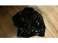 Next sequin blazer - size 3-4