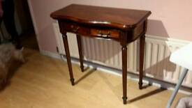 Beautiful hall table/stand teak wood