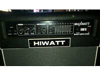 Hiwatt bass amp