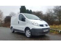 Renault Trafic 2.0 dCi SL27 Phase 3 Panel Van 4dr NO VAT TO PAY **TOM TOM SAT...