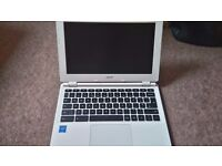 """ACER CB3-111 11.6"""" Chromebook - White"""