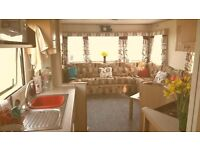Memories are made in The Nutmeg. 3bedroom static mobile home Martello beach Essex