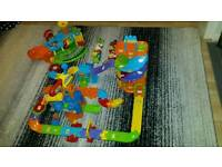 VTech toot toot garage parking construction toys drivers