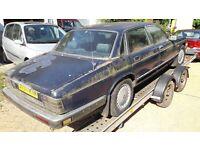 Old Daimler Jaguar Barn/Garage Find!!