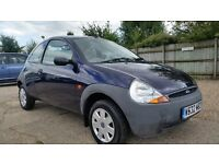 FORD KA 1299 CC(55000MILES) F S H - 1 KEEPER MOT 19 AUG 2017 PART EX CLEARNACE