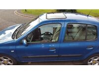 Renault clio 5dr 1.4 16v LOWERED PRICE