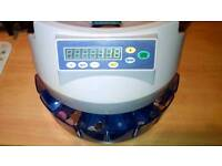 Automatic electronic coin counter GBP